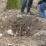 Grabungsschäden an Hügelgräbern Bild 3